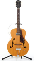 Musical Instruments:Electric Guitars, 1954 Gretsch Electromatic 6385 Natural Archtop Electric Guitar#09110....