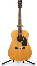 Musical Instruments:Acoustic Guitars, 1970's Fender F65 Natural Acoustic Guitar #730328....