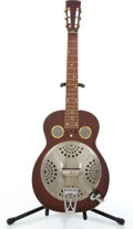 Musical Instruments:Resonator Guitars, 1972 Dobro Square Neck Mahogany Resonator Guitar #D626....