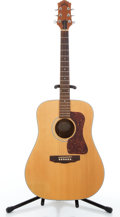 Musical Instruments:Acoustic Guitars, 1990's Guild D-4 Natural Acoustic Guitar #AD405569....