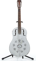 Musical Instruments:Resonator Guitars, 1930's National Duolian Silver Resonator Guitar #C5968....
