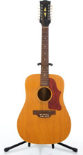 Musical Instruments:Electric Guitars, 1969 Gibson B-45-12 Natural 12 String Acoustic Guitar #848658...