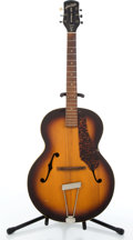Musical Instruments:Acoustic Guitars, Vintage Gretsch New Yorker Sunburst Archtop Acoustic Guitar#N/A....