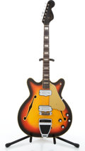 Musical Instruments:Electric Guitars, 1967 Fender Coronado II sunburst Electric Guitar, Serial #196902...