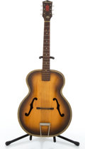 Musical Instruments:Acoustic Guitars, 1950s-1960s Harmony H1213 Archtone Archtop Brown Sunburst Acoustic Guitar, Serial # 3380H1213...