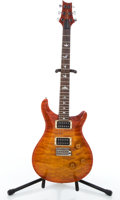 Musical Instruments:Electric Guitars, 1993 PRS Custom Sunburst Flame Solid Body Electric Guitar #316864....