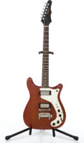 Musical Instruments:Electric Guitars, Mid 1960's Epiphone Wilshire Cherry Solid Body Electric Guitar#N/A....