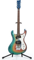 Musical Instruments:Electric Guitars, Mosrite Copy Refinished Solid Body Electric Guitar....