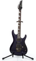 Musical Instruments:Electric Guitars, 1990's Ibanez RG550WHM Purple Solid Body Electric Guitar#F763054....