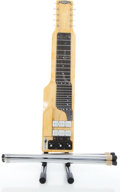Musical Instruments:Lap Steel Guitars, 1960s Alkire Eharp Natural Steel Guitar, Serial # T39250...