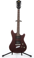 Musical Instruments:Electric Guitars, 1981 Guild S-25 Wine Solid Body Electric Guitar #AC100007....