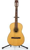 Musical Instruments:Acoustic Guitars, 1970's Giannini 6 Natural Classical Acoustic Guitar #38857....
