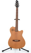 Musical Instruments:Electric Guitars, Godin A6 Acousticcaster Natural Solid Body Electric Guitar#03114687....