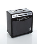 Musical Instruments:Amplifiers, PA, & Effects, 1980's Hughes Kettner Tube 20 Black Guitar Amplifier # 216310....