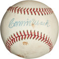Autographs:Baseballs, Circa 1950 Connie Mack Single Signed Baseball. ...