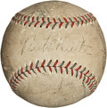 Autographs:Baseballs, 1932 New York Yankees Team Signed Baseball....