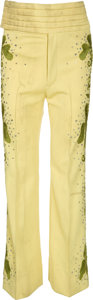 Music Memorabilia:Costumes, Jermaine Jackson Stage-Worn Pants....