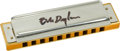 Music Memorabilia:Autographs and Signed Items, Bob Dylan Played and Signed Hohner Harmonica....