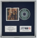Music Memorabilia:Awards, Stevie Ray Vaughan - The Vaughan Brothers Family Style CRIAPlatinum Album Award....
