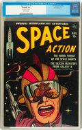 Golden Age (1938-1955):Science Fiction, Space Action #2 White Mountain pedigree (Ace, 1952) CGC VF/NM 9.0Off-white pages....