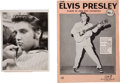 Music Memorabilia:Memorabilia, Elvis Presley Ed Sullivan Show Photo with Music Book.... (Total: 2 )