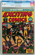 Golden Age (1938-1955):Superhero, Exciting Comics #29 (Nedor Publications, 1943) CGC NM 9.4 Off-white to white pages....