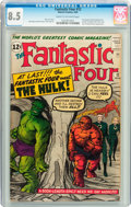 Silver Age (1956-1969):Superhero, Fantastic Four #12 (Marvel, 1963) CGC VF+ 8.5 Cream to off-white pages....