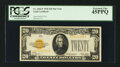 Small Size:Gold Certificates, Fr. 2402* $20 1928 Gold Certificate. PCGS Extremely Fine 45PPQ.. ...