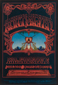 "Music Memorabilia:Posters, Quicksilver Messenger Service/Kaleidoscope ""Eternal Reservoir""Avalon Ballroom Concert Poster FD-101 (Family Dog, 1968)...."