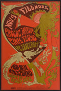 Music Memorabilia:Photos, Pink Floyd/Procol Harum/H.P. Lovecraft 1967 Fillmore/WinterlandConcert Poster BG-92 (Bill Graham, 1967)....