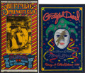 Music Memorabilia:Posters, Buffalo Springfield Fillmore Concert Poster BG-98 and Grateful Dead 1993 Oakland Coliseum Concert Poster Group (1967-93). ... (Total: 2 Items)