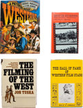 Movie/TV Memorabilia:Memorabilia, Four Western Film Books.... (Total: 4 )