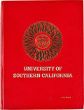 "Movie/TV Memorabilia:Memorabilia, A USC-Related ""Living Webster Encyclopedic Dictionary."" ..."
