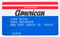 Movie/TV Memorabilia:Memorabilia, An 'American' ID Card, 1970s....
