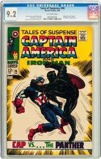 Tales of Suspense #98 (Marvel, 1968) CGC NM- 9.2 Off-white pages