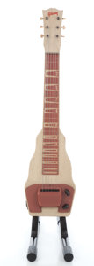 Musical Instruments:Lap Steel Guitars, Vintage Gibson BR-9 Tan Lap Steel Guitar #N/A....