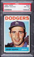 Baseball Cards:Singles (1960-1969), 1964 Topps Sandy Koufax #200 PSA NM-MT 8....