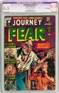 Golden Age (1938-1955):Horror, Journey Into Fear #11 (Superior, 1953) CGC Apparent FN+ 6.5Off-white to white pages....