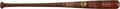 "Baseball Collectibles:Bats, 1991 Baseball Hall of Fame ""Louisville Slugger"" Brown Bat. ..."