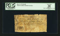 Colonial Notes:North Carolina, North Carolina March 9, 1754 26s 8d PCGS Apparent Very Fine 20.....