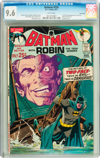 Batman #234 Twin Cities pedigree (DC, 1971) CGC NM+ 9.6 White pages