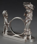 Silver Holloware, American:Napkin Rings, A TUFTS SILVER-PLATED FIGURAL NAPKIN RING . James W. Tufts, Boston,Massachusetts, circa 1875. Marks: JAMES W. TUFTS, BOST...