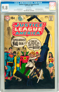Silver Age (1956-1969):Superhero, Justice League of America #73 Twin Cities pedigree (DC, 1969) CGC NM/MT 9.8 White pages....