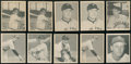 Baseball Cards:Lots, 1948 Bowman Baseball Collection (14 cards) With Many Stars andRookies. ...