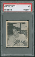 Baseball Cards:Singles (1940-1949), 1948 Bowman Bob Feller #5 PSA NM 7. ...
