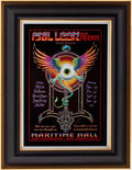 Music Memorabilia:Posters, Phil Lesh Maritime Hall Concert Poster Signed by Alton Kelley(2001)....