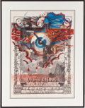 Music Memorabilia:Posters, Kenneth Anger Lucifer Rising Treated Print (1967)....