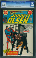 Bronze Age (1970-1979):Superhero, Superman's Pal Jimmy Olsen #155 (DC, 1973) CGC NM/MT 9.8 White pages.
