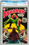 Silver Age (1956-1969):Superhero, Aquaman #46 Twin Cities pedigree (DC, 1969) CGC NM+ 9.6 Off-white to white pages....