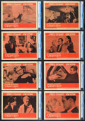 "Movie Posters:Hitchcock, Vertigo (Paramount, 1958). CGC Graded Lobby Card Set of 8 (11"" X14"").. ... (Total: 8 Items)"